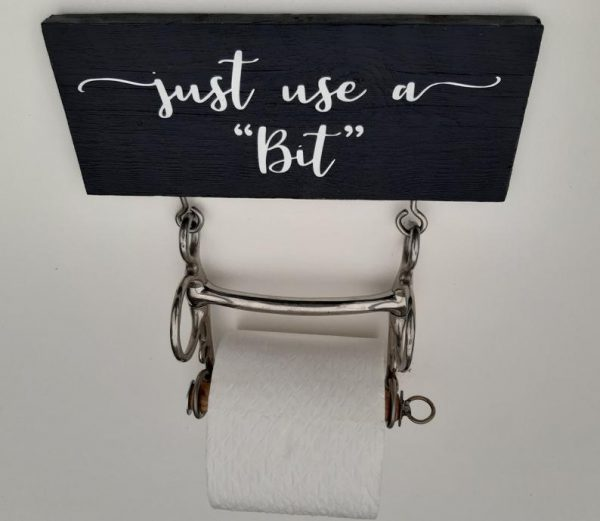 Horse Toilet Roll Holder