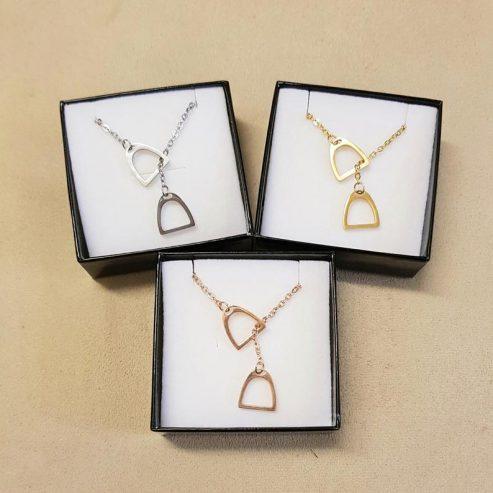 Beautiful-Stirrup-necklace